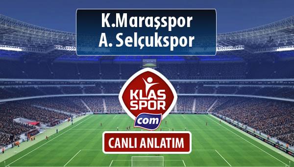 İşte K.Maraşspor - A. Selçukspor maçında ilk 11'ler