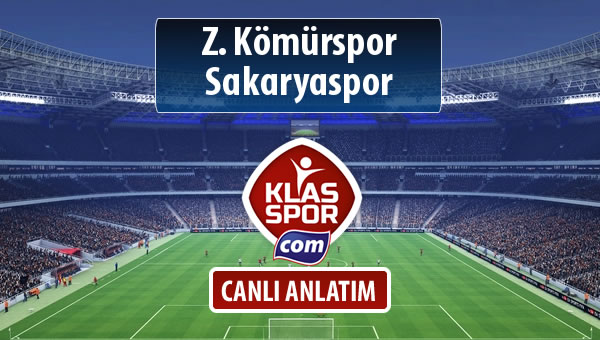İşte Z. Kömürspor - Sakaryaspor maçında ilk 11'ler