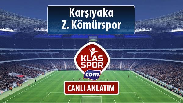 Karşıyaka - Z. Kömürspor maç kadroları belli oldu...