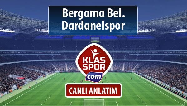 Bergama Bel. - Dardanelspor maç kadroları belli oldu...