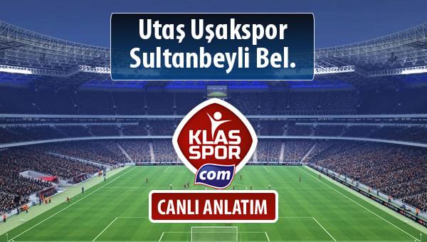 Utaş Uşakspor - Sultanbeyli Bel. maç kadroları belli oldu...