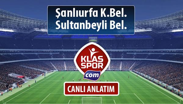 Şanlıurfa K.Bel. - Sultanbeyli Bel. maç kadroları belli oldu...