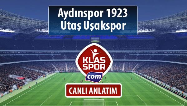 Aydınspor 1923 - Utaş Uşakspor maç kadroları belli oldu...