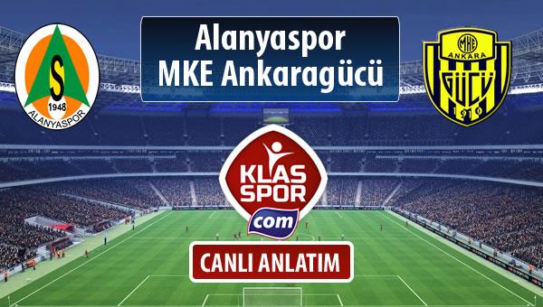 Alanyaspor - MKE Ankaragücü maç kadroları belli oldu...