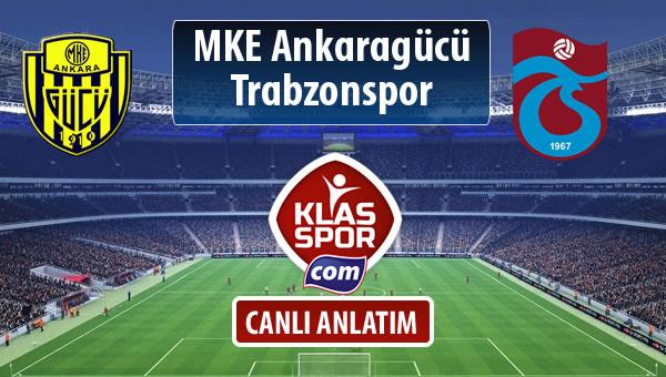 MKE Ankaragücü - Trabzonspor maç kadroları belli oldu...