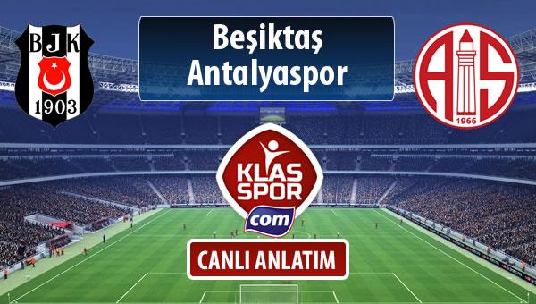 Beşiktaş - Antalyaspor sahaya hangi kadro ile çıkıyor?