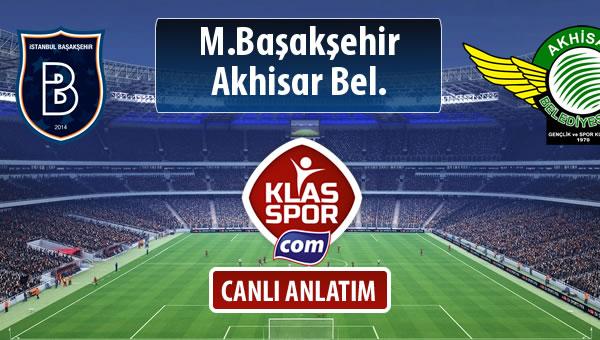 İşte M.Başakşehir - Akhisar Bel. maçında ilk 11'ler