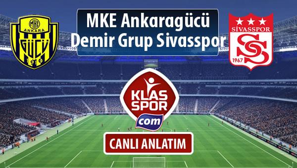 MKE Ankaragücü - Demir Grup Sivasspor maç kadroları belli oldu...