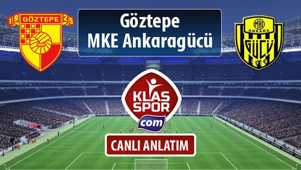 İşte Göztepe - MKE Ankaragücü maçında ilk 11'ler