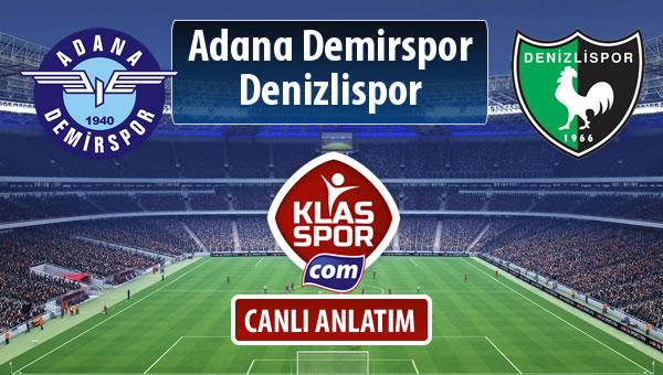 Adana Demirspor - Denizlispor maç kadroları belli oldu...