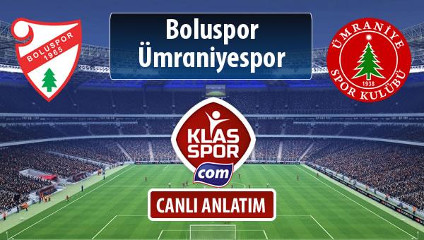 İşte Boluspor - Ümraniyespor maçında ilk 11'ler