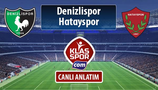 İşte Denizlispor - Hatayspor maçında ilk 11'ler