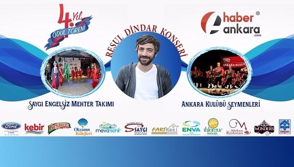 """Haber Ankara """"4. Yıl Medya Ödül Töreni""""ni gerçekleştiriyor"""