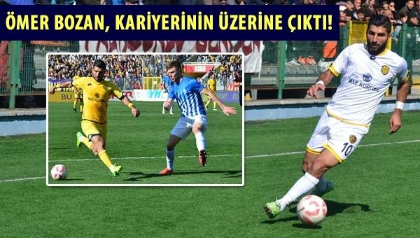 Ömer Bozan, kariyerinin üzerine çıktı!